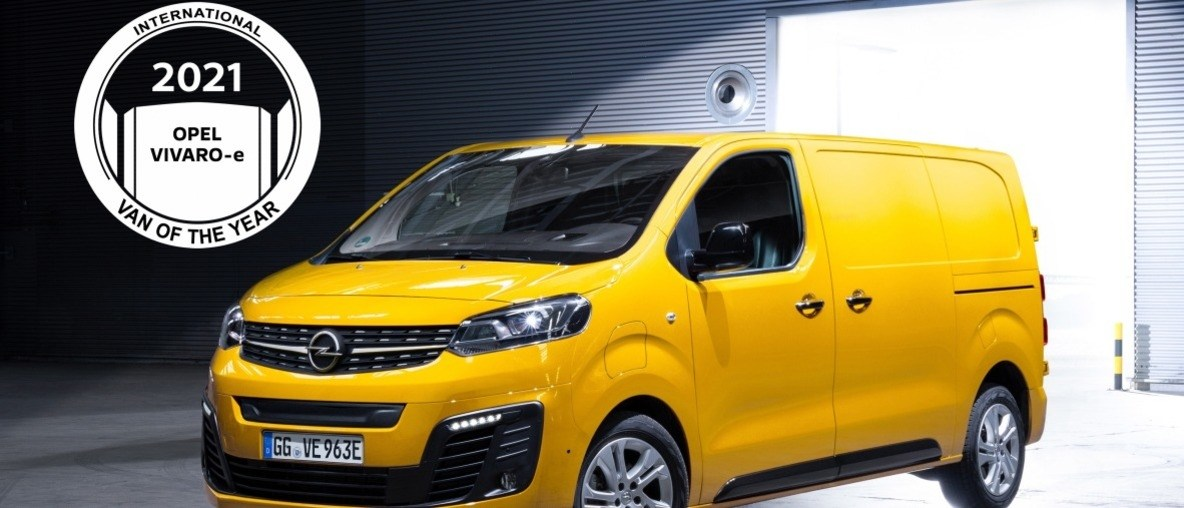 New Opel Vivaro-e Voted International Van of the Year 2021